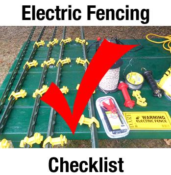 fencingchecklist