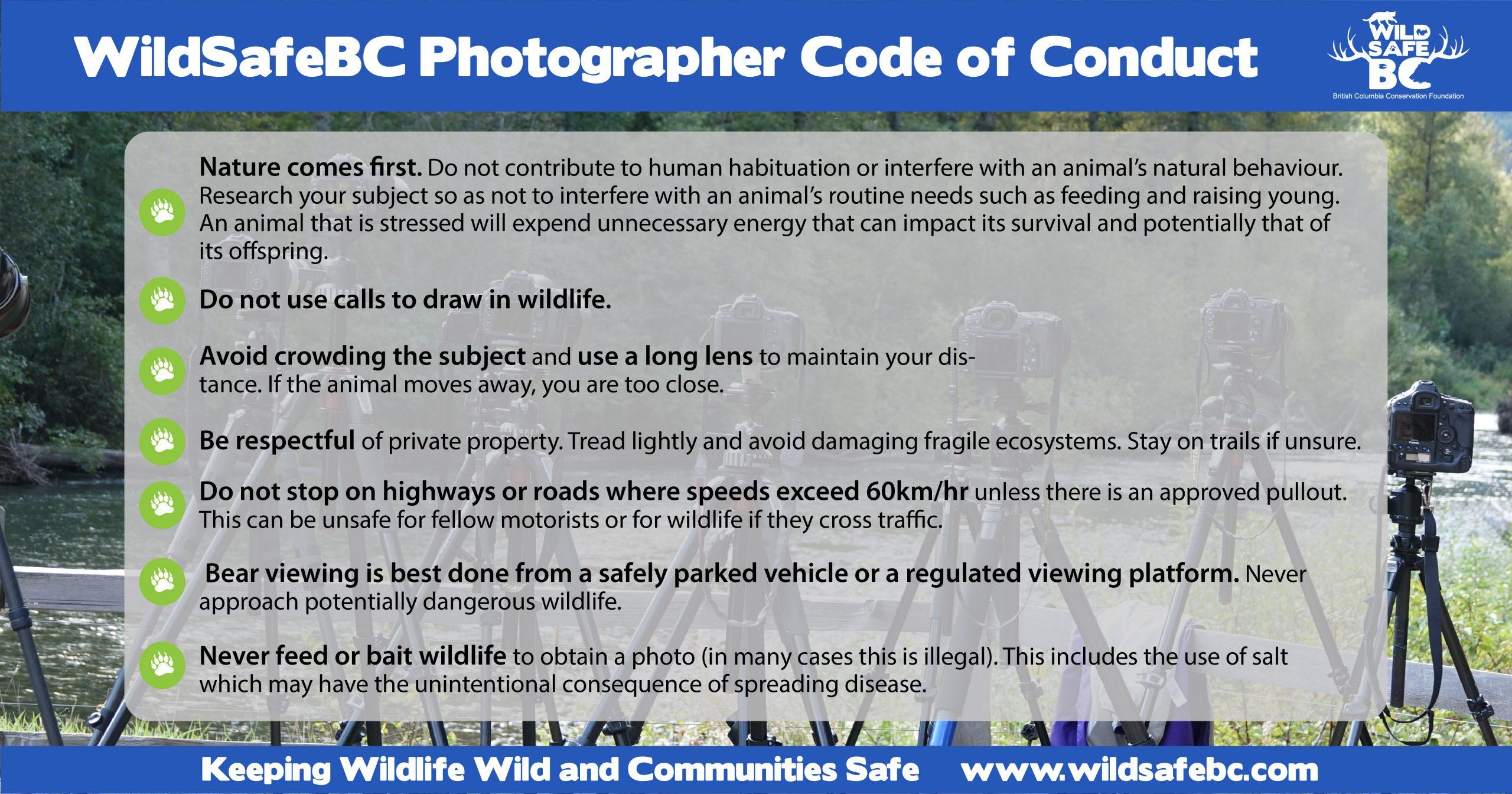 WildSafeBC Photographer Code of Conduct-01